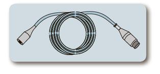 Кабель-адаптер для датчика инвазивного давления к монитору пациента HP, Phillips, Mindray, 12 pins