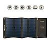 Складное солнечное зарядное устройство BlitzWolf Dual USB с Power3S для iPhone, iPad Pro, Galaxy