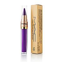 Жидкая губная помада+помада карандаш 2 в 1 MAC Long Lasting Lip Gloss (ПОШТУЧНО)