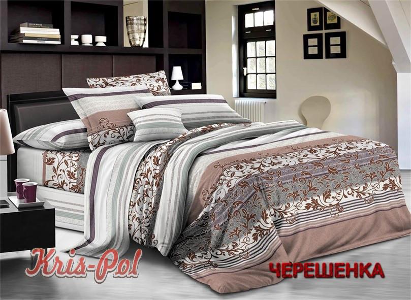 Двуспальный набор постельного белья 180*220 из Ранфорса №18071657 KRISPOL™