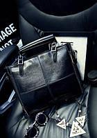Женская сумка черная классическая большая Larya, фото 1
