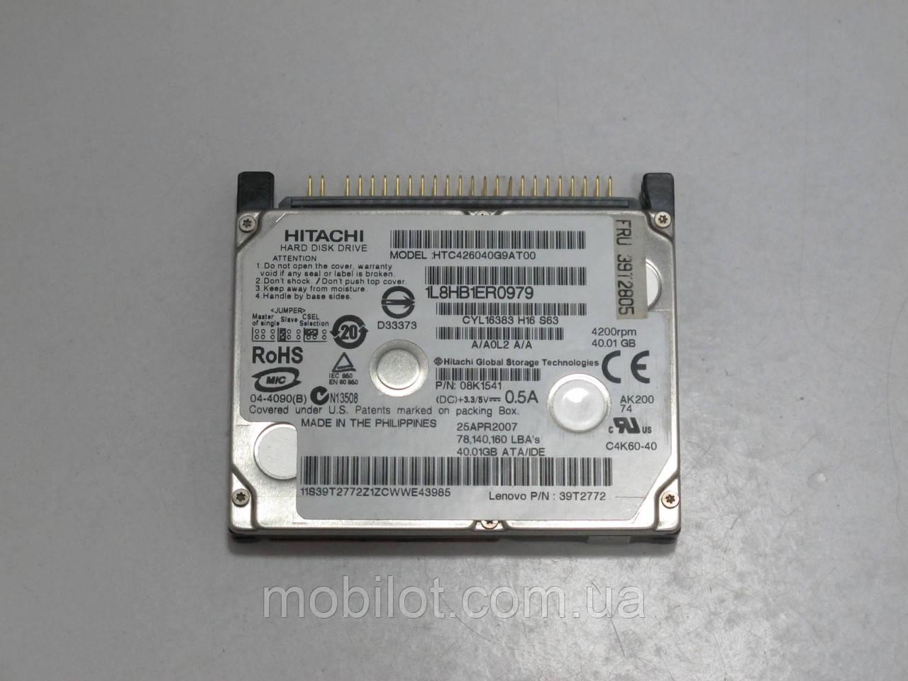 """Жесткий диск 1.8"""" 40GB Hitachi (NZ-7112)"""