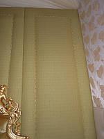 Мягкие стеновые панели из льна (с молдингом)