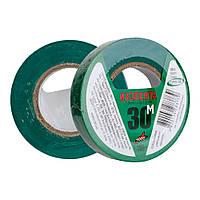 Изоляционная лента ПВХ ORBITA зеленая 30м  (10шт/уп)