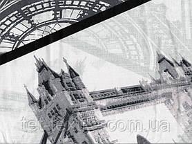 Простынь на резинке с рисунком 180х200+20, фото 2