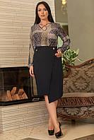 """Блузка больших размеров """" Узоры """" Dress Code, фото 1"""