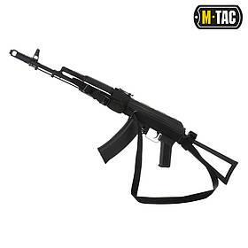 M-Tac ремень оружейный трехточечный черный