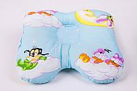 Ортопедическая подушка для новорожденных (бабочка) Олви J2302 (ОП-2)