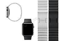 Металлический браслет Apple Watch 38/42 Link Bracelet ремешок Space Black/Silver