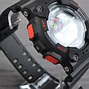 Часы Skmei Мод.1101, черный-красный, в металлическом боксе, фото 3