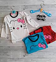 Кофта блузка детская Китти (фулликра) 28-30 рост (98-116)