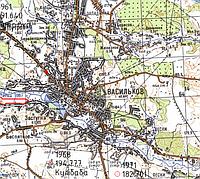 Вынос земельных участков в Васильковском районе