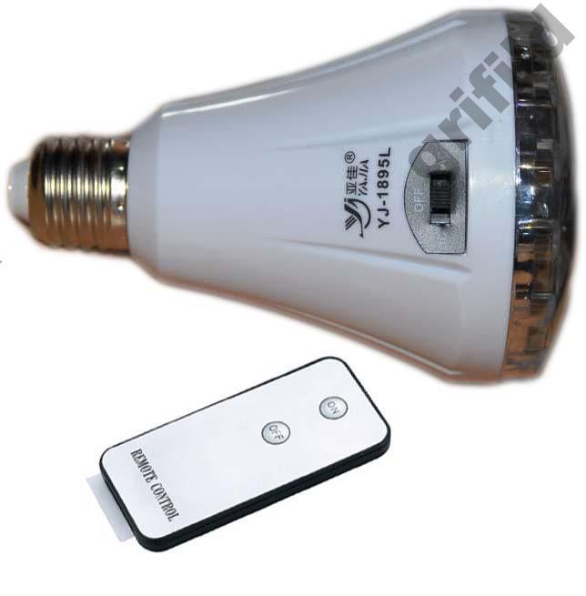 🔥✅ Аварийная LED лампочка лампа на пульте экономка YJ-1895AL