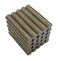 Неодимовый Магнит Шайба 6х1 N50 18650 Мощный