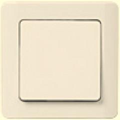 ВСк10-1-0-ГКм Выключатель 1кл кнопочный (кремовый)