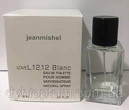 Реплика мужского аромата jeanmishel Love L.12.12 Blanc 60ml опт