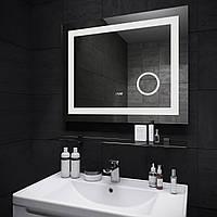 Зеркало с часами Ultra Mega Sanwerk 80*65