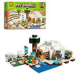 Конструктор Minecraft лего игрушки. Детский конструктор пластмассовый. 3D-конструкторы.