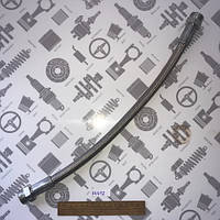 Рукав ТРОЛЛЕЙБУС PTFE DN13 L400мм (штуцер-штуцер) высокие t° в метал.оплетке (GO) Шланг компрессора (ШлангТРОЛ DN13 L-400)