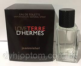Мужская туалетная вода jeanmishel Love Terre D`Hermes 60ml опт