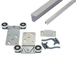 Раздвижная система для двери 2м Новатор 288/2 до 40 кг.