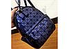 Рюкзак городской женский мини Бао Бао серебристый Bao Bao синий