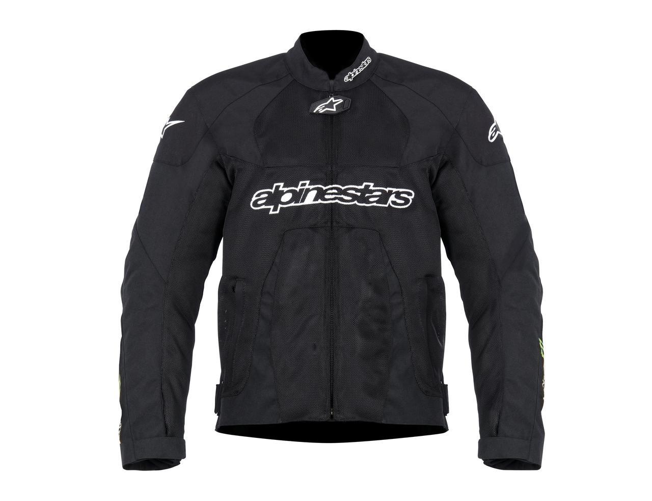"""Куртка Alpinestars T-SCREAM """"XL"""" (52р.) black\green текстиль"""