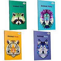 Блокнот А5 40л. 4profiplan Animal note series в ассортименте, мягкий переплет 9000**