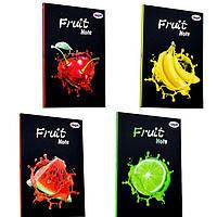 Блокнот А5 40л. 4profiplan Fruit note series в ассортименте, мягкий переплет 9001**