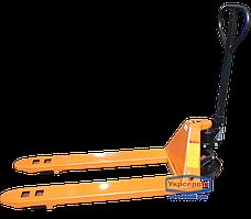 Рокла гидравлическая Vulkan SYP-I-2000 с удлиненными вилами