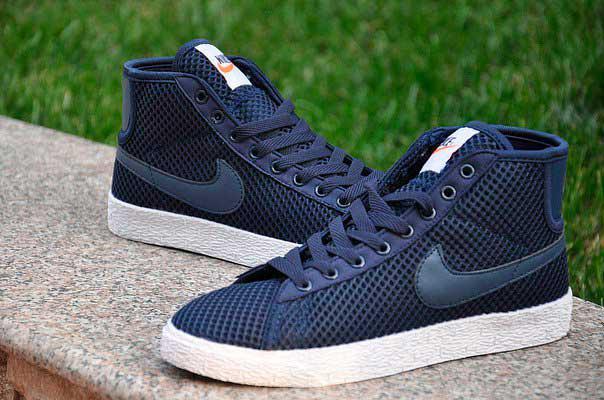 Кроссовки Nike Force High Tissue (синие)