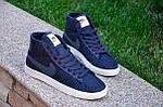 Кроссовки Nike Force High Tissue (синие) , фото 2