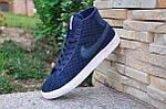 Кроссовки Nike Force High Tissue (синие) , фото 3