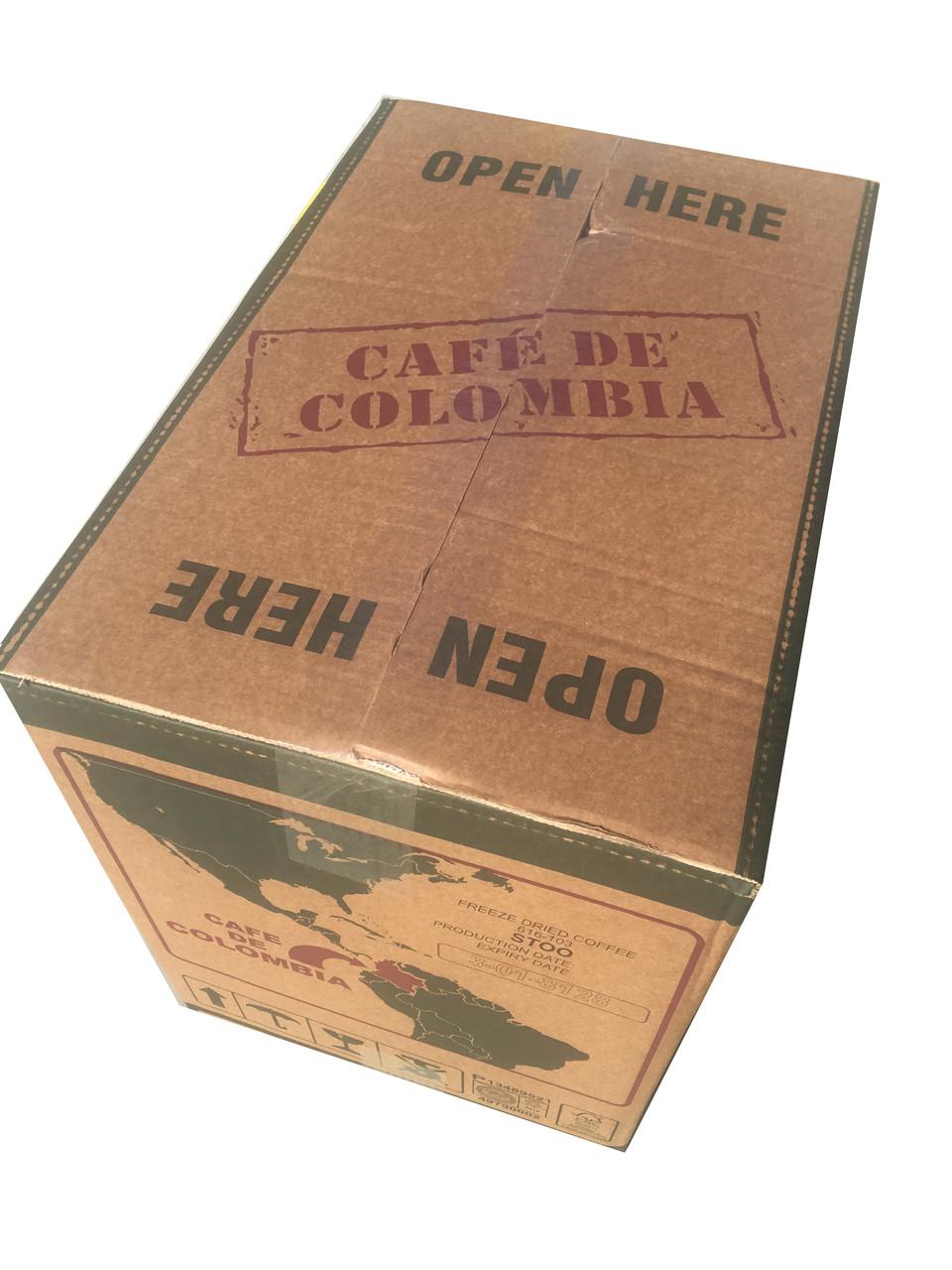 """Кофе растворимый сублимированный """"Columbia Montenegro"""" (Монтенегро, Колумбия), 25кг"""