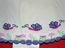 Колготы с вшитой юбкой Улитка кремовые (DeMelatti, Турция), фото 2