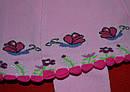 Колготы с вшитой юбкой Улитка розовые (DeMelatti, Турция), фото 2