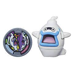 Фигурка Yo-Kai Watch с медалью - Whisper. Оригинал Hasbro B5939/B5937