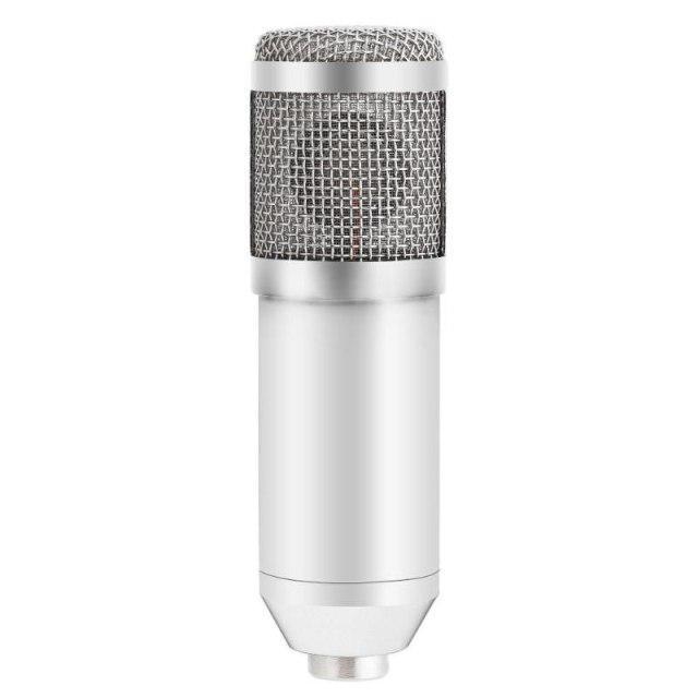 Конденсаторный микрофон ZEEPIN BM-800 WHITE SILVER