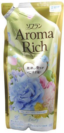 "Кондиционер для белья с богатым ароматом""Soflan Aroma Rich Fairy 430 мл (262985), фото 2"