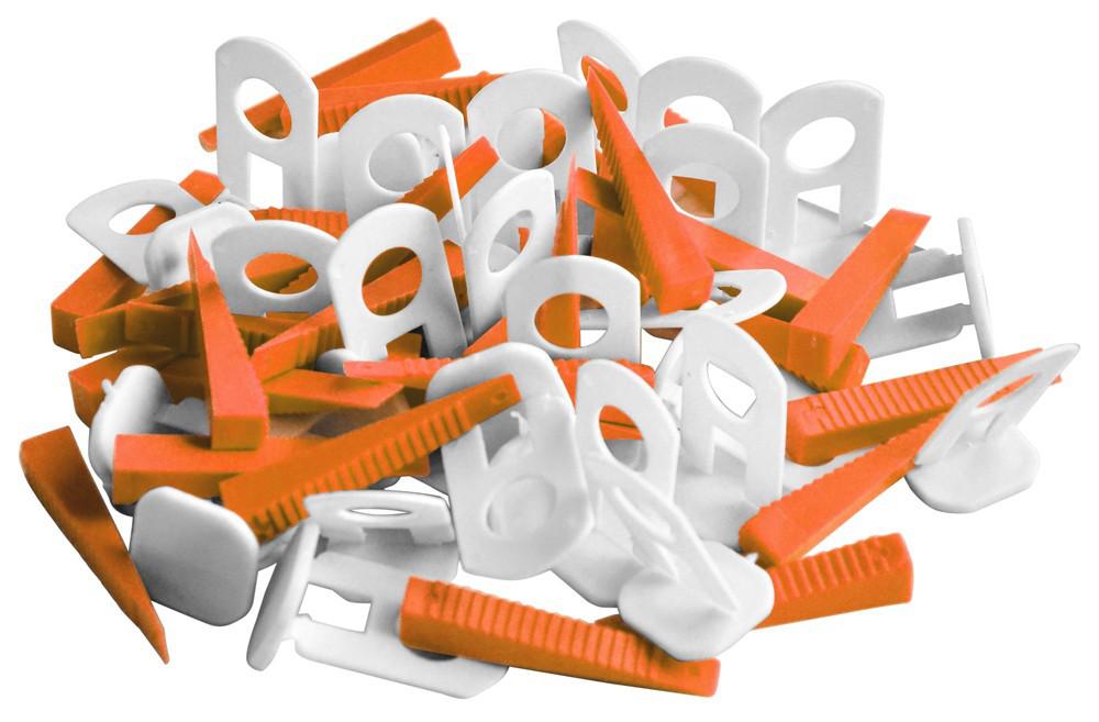 Клипсы и клинья для выравнивания плитки 1,3мм, MINI | 11-025