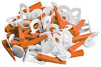 Клипсы и клинья для выравнивания плитки 1мм, MAXI   11-026