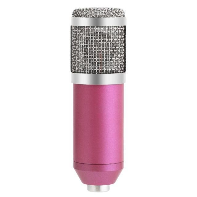 Конденсаторный микрофон ZEEPIN BM-800 PINK SILVER, фото 1