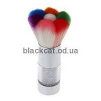 Кисть для стряхивания разноцветная, фото 1