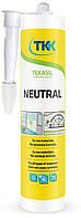 Герметик силиконовый нейтральный Tekasil Neutral, прозрачный, 280мл   12-352