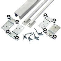 Раздвижная система верхнего опирания на 2 двери 1,2м Новатор 287/2 до 40 кг.