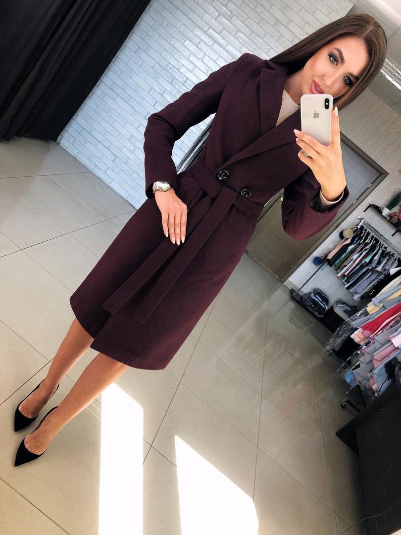 """Женское пальто из кашемира классика """"Валери"""""""