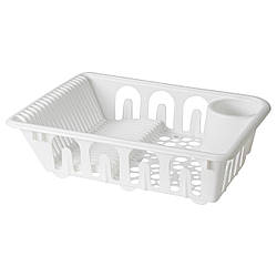 ✅ IKEA FLUNDRA (401.769.50) Сушилка посудная, белая