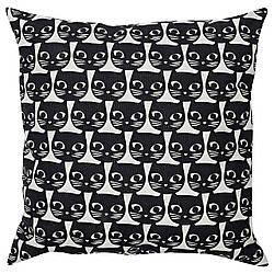 ✅ IKEA GERDIE (604.106.31) Подушка, белый, черный кот