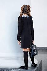 Школьное платье с воротником, фото 3