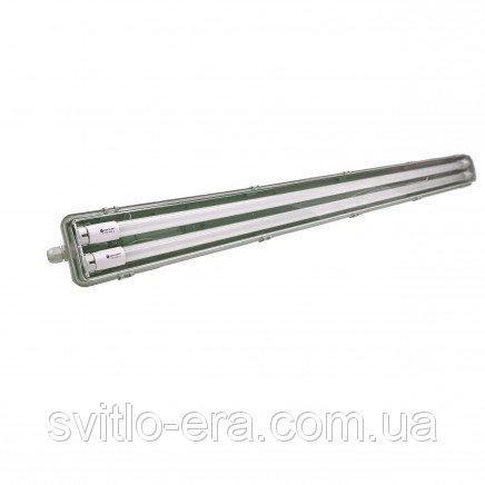 Светильник промышленный с лед лампами 2*600мм 6400K IP65 SLIM